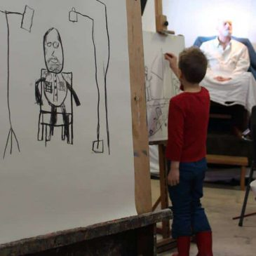 KinderAteliers tekenlessen op zaterdagochtend!