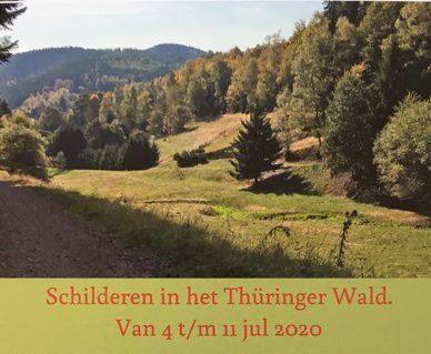 Schilderreis naar Thüringen
